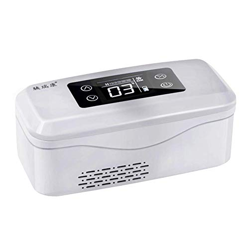 YPBX Insulin KüHlschrank, Diabetiker Medizin GeküHlte Box,Insulinpen, Interferon, Impfstoff LagerungKüHlbox KüHltasche,2-8℃