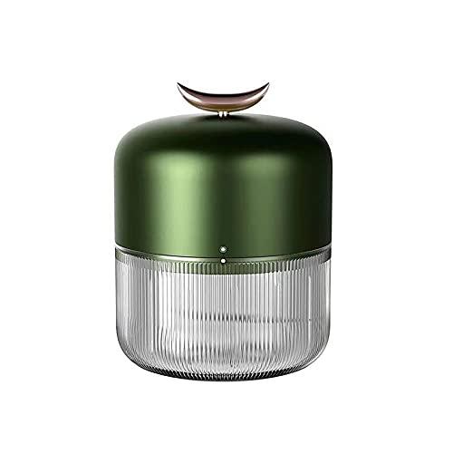 Takefuns - Spremiaglio elettrico portatile per aglio, cipolla, zenzero, peperoncino, varie salse, utensili da cucina, colore: verde