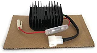 For Yanmar L100 L75 VOLTAGE Regulator Charging Rectifier w/Fuses Chinese 186F 178F Diesel Engine Tractor Engine Generator