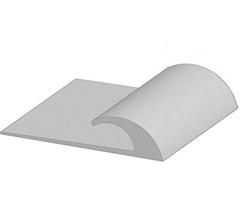 American Floor Mats Rubber Flooring Beveled Edge Ramps (6 Linear Feet, Low Profile)   Reducer Strip