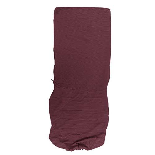 YJZO Housses de protection amovibles et extensibles pour fauteuil de bureau - Bordeaux clair - Taille L