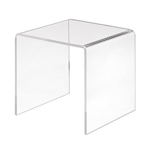 Zeigis Dekobrücke/U-Ständer/U-Aufsteller 100x100x100mm aus transparentem Acrylglas/PMMA