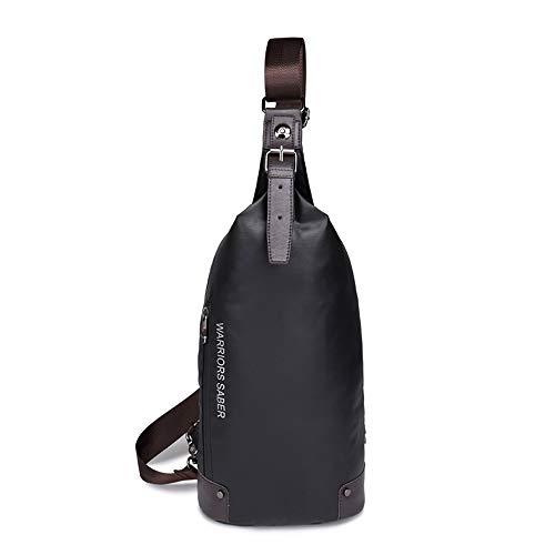 Brusttasche Oxford Tuch Bequem Und Haltbar Multitasche Lässig Retro Anti-Diebstahl-Umhängetasche Tasche Geeignet Für Outdoor-Freizeit-Sport-Rucksack,Grün
