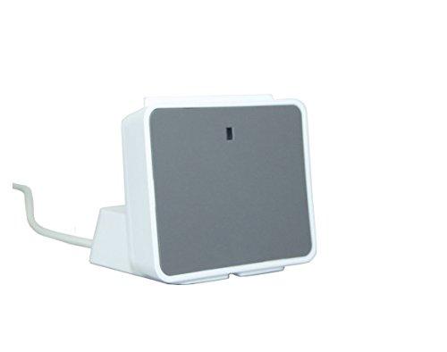 SCR uTrust 2700 R Smart Card Leser INKLUSIVE Standfuss - ideal für OnlineBanking / sichere Zugang zu Netzwerken und PCs / Sozialversicherungs- und Treueprogramme, Nachfolger des SCR3311