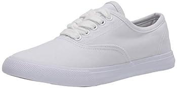 Amazon Essentials Women s Lace-Up Sneaker White 12 Medium US