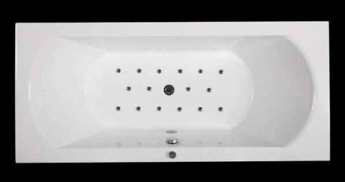 Jet-Line Whirlpool Whirl bañera Jacuzzi 'Villa Roma' con helioterapia y función de masaje