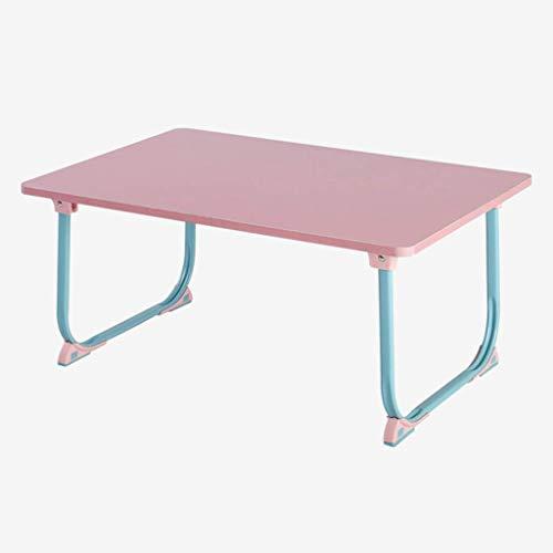 Eenvoudig en gratis te installeren klapraam bureau slaapkamer laptop schrijftafel luier bureau mobiel provincie ruimte bed tafel slaapzaal kleine tafel (kleur: bruin) 5 5