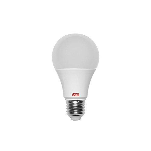 Valex 1155518 LED-lampen, 15 W, 60 x 123 mm, druppelvorm, grote fitting E27, koud licht, verlichting 1300 lumen, direct inschakelen, energiebesparend