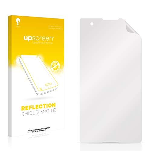 upscreen Entspiegelungs-Schutzfolie kompatibel mit Sony Xperia T2 Ultra – Anti-Reflex Bildschirmschutz-Folie Matt