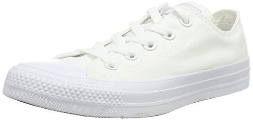 Converse Chuck Taylor All Star, Unisex - Erwachsene Sneaker, Weiß (Monocrom), 42 EU