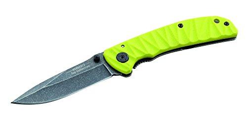 Herbertz TOP-Collection Messer Einhandmesser Stonewashed-Optik Länge geöffnet: 19.4cm, Grau, M