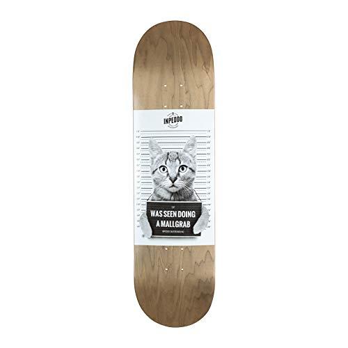 Inpeddo Skateboard Deck Mallgrab Cat 8.375