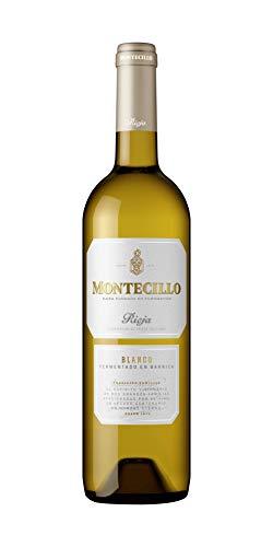 Vino Blanco D.O. Rioja Montecillo fermentado en barrica - 3 botellas de 75 cl - Total: 225 cl