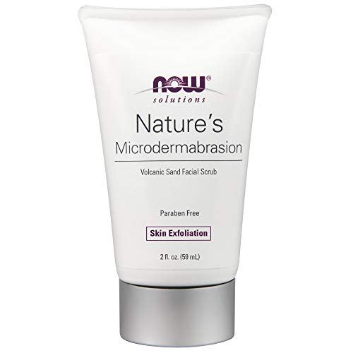 NOW Solutions Natures Microdermabrasion Scrub,2-Ounce