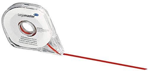 Legamaster 7-433302 Aufteilungsband für Planungstafeln, selbstklebend, 3 mm x 8 m, rot