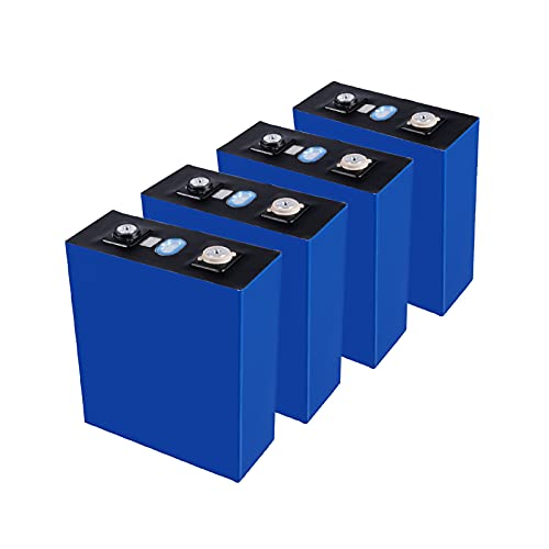 TDHLW 4PCS 3.2V 176Ah LiFePO4 Battery Lithium Iron Phosphate Cell for Motorhome Rv/Boat/Car Battery Lithium Iron Phosphate Battery