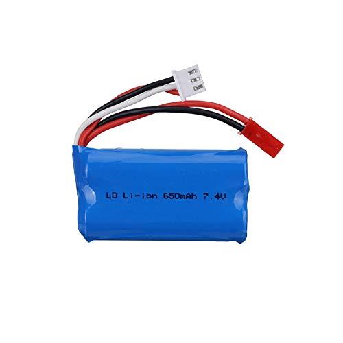 Batería Lipo de 7,4 V 650 mAh 14500 para FT007 lancha rápida de Barco de Control Remoto FX059 F1 avión de Control Remoto Li-po 2s 7,4 V 650 mAh Gold