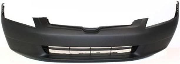 Crash Parts Plus Primed Front Bumper Cover Replacement for 2003-2005 Honda Accord Sedan
