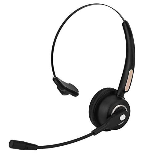 Jopwkuin Auriculares inalámbricos Auriculares portátiles de Uso cómodo, para PC, para iPad, para teléfonos, para Centro de Llamadas