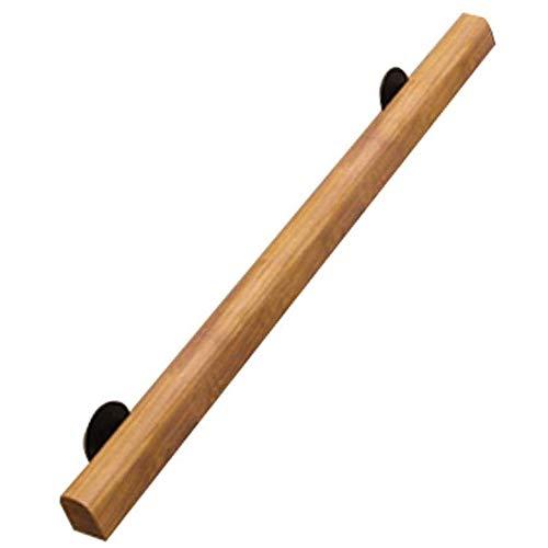 YIKE leuning, 1 voet – 20 voet – leuning van hout, antislip, ladders, instap tegen de wand, loft, binnenleuning voor geavanceerde leuningen, leuning