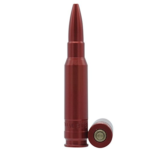 Waffenpflegewelt Pufferpatronen Aluminium eloxiert mit Messingschlagfläche Kaliber .308 Winchester - 2 Stück