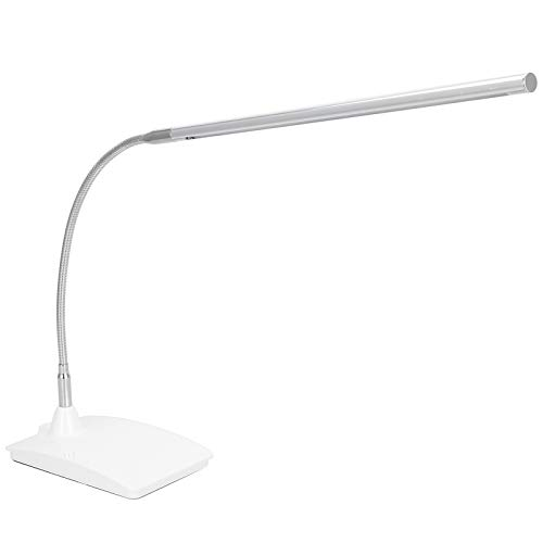 Lámpara de mesa LED Luz de mesa flexible 3 niveles Protección ocular regulable Luz de escritorio flexible Lámpara de abrazadera de tatuaje Luz de lectura de estudio para arte de uñas Tatuaje