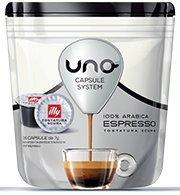 96 (6 X 16 pz) CAPSULE CAFFE ILLY UNO SYSTEM NERO PER MACCHINA INDESIT KIMBO ILLY ORIGINALI