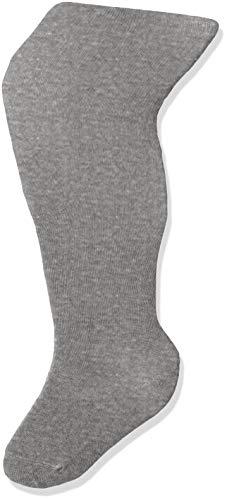 Melton Mädchen Basic Strumpfhose, Grau (Light Grey Melange 135), 35-38 (Herstellergröße: 9-10Y)