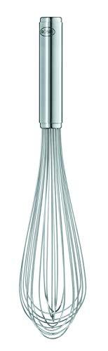 Rösle Gastro Schlagbesen, hochwertiges Rührgerät mit stabilem Rundgriff für Gastronomie, Edelstahl 18/10, Spülmaschinengeeignet, Länge 30 cm