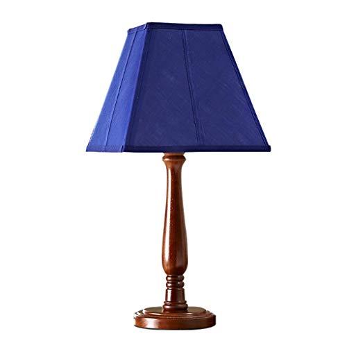 AERVEAL Lámpara de Mesa Blue Star Lámpara de Noche para Dormitorio Americano - Muy Fácil de Limpiar Y Cuidar,Azul