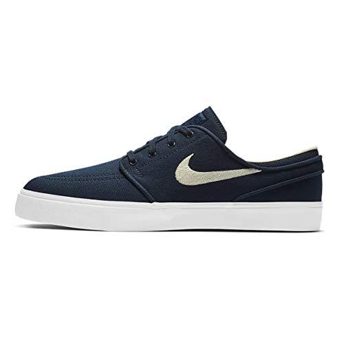 Nike Zoom Stefan Janoski CNVS, Scarpe da Skate Uomo, Blu (Ossidian Blanc Crème Clair), 42.5 EU