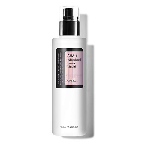 COSRX AHA 7 Whitehead Power Liquid 3.38 fl.oz / 100ml | Removing Dead Skin Cells | Korean Skin Care, Vegan, Cruelty Free, Paraben Free
