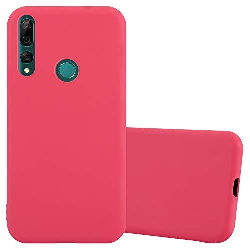Cadorabo Funda para Huawei Y9 Prime 2019 / Enjoy 10 Plus/Honor 9X Pro en Candy Rojo - Cubierta Proteccíon de Silicona TPU Delgada e Flexible con Antichoque - Gel Case Cover Carcasa Ligera