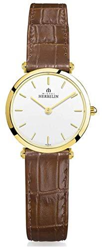 Michel Herbelin | Frauen | epsilon | braunes Lederband 17106/P11GO