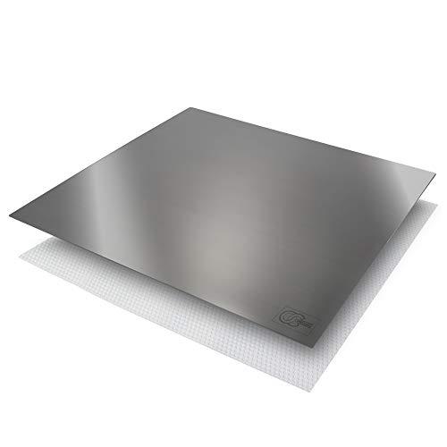 OneClod - Encimera De Cocina En Acero Inox Tabla De Cortar 51x47 Bandeja De Servir Plancha Para Cocina Amasar Pasteles De Estilo Modelo