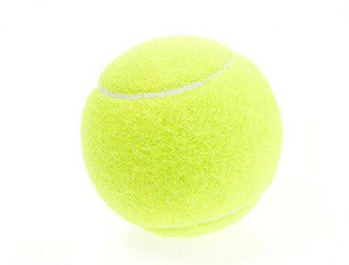 JUNGEN Tennisball Tennisbälle hohe Elastizität Practice Ball Trainingsbälle Grün