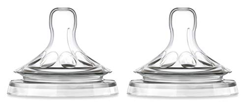 Philips Avent SCF656/27 - Tetina natural, para líquidos espesos, 2 unidades 🔥
