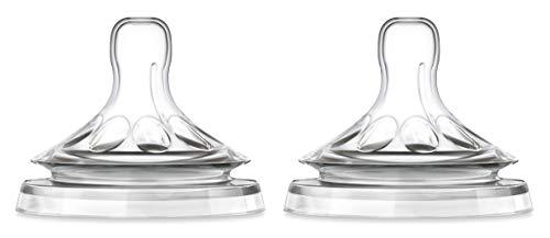 Philips Avent SCF656/27 - Tetina natural, para líquidos espesos