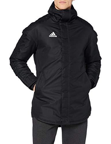 Adidas JKT18 STD Parka Chaqueta de Deporte, Hombre, Black/White, 2XL
