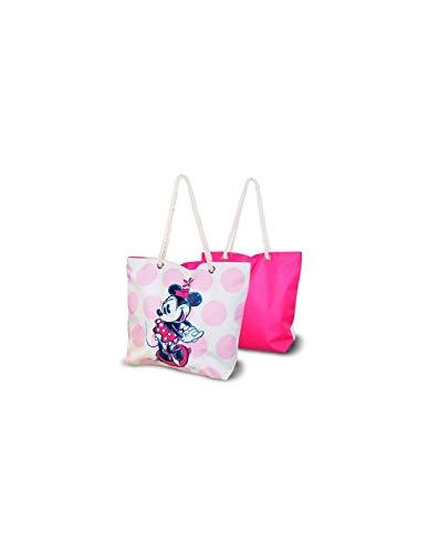 Minnie Mouse Minnie Young Teenager Strandtasche für Freizeit und Sport, für Kinder, Jugendliche, Unisex, mehrfarbig, Einheitsgröße