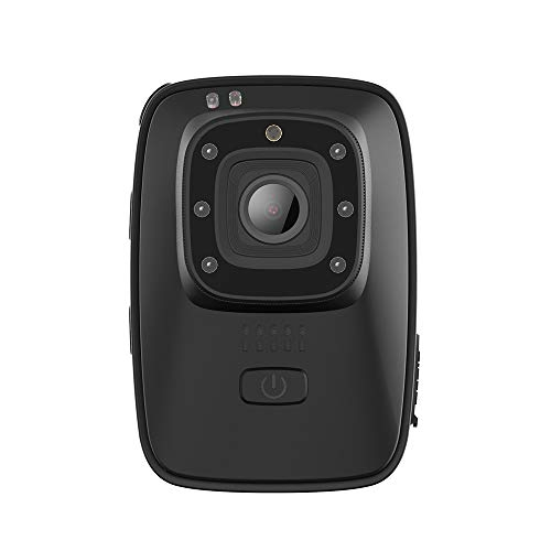 DZSF A10 cámara Aplicación de la Ley de Deportes portátil usable IR-Cut B/W Interruptor de la visión Nocturna de la lámpara de Leva de la acción 2650mAh batería