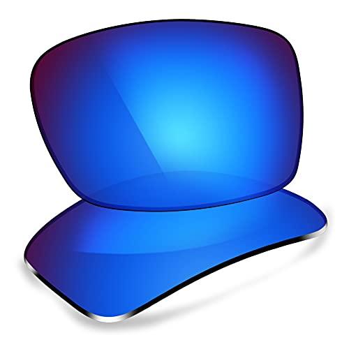 ThunderClap Lentes de repuesto polarizadas para gafas de sol Costa Del Mar Reefton, Geyser Blue - Polarizado, Talla única