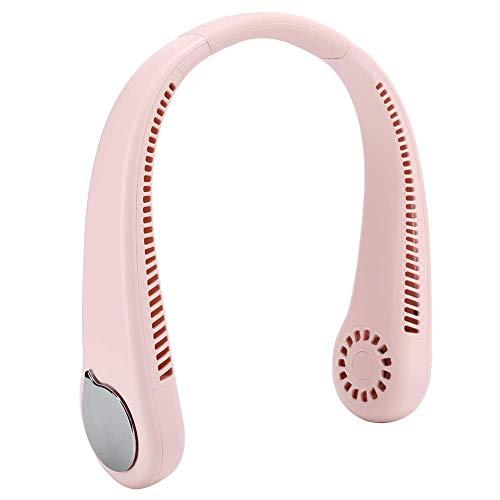 YCHY Ventilador Sin Cuello, Ventilador Portátil USB Recargable Montado En El Cuello De 1800ma, Mini Ventilador Montado En El Cuello, Enfriador De Aire con Ventilador, Ventilador Sin Aspas