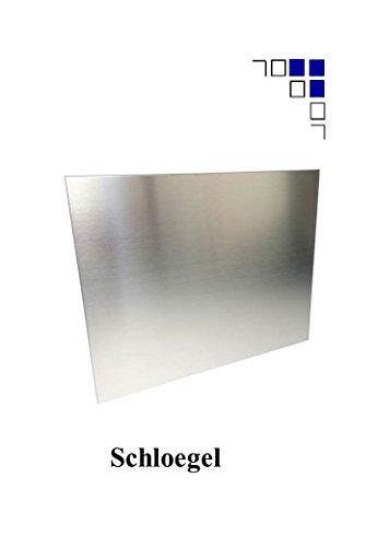 1mm Edelstahlblech gebürstet 1.4301 V2A Länge 1000/1500mm eins. Schutzfolie (500x1500mm)