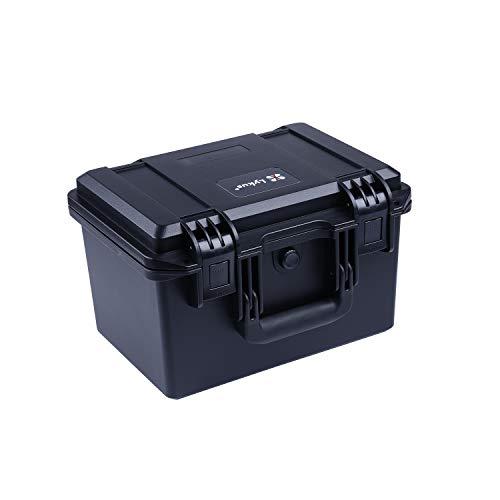 Lykus HC-3020 Estuche Impermeable con Espuma, tamaño Interior 30x20x20 cm, Adecuada...