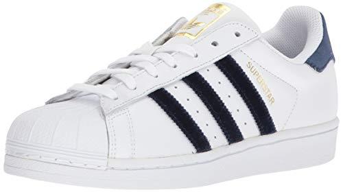 adidas - Superstar Damen , Weiá (weiß/marineblau), 41