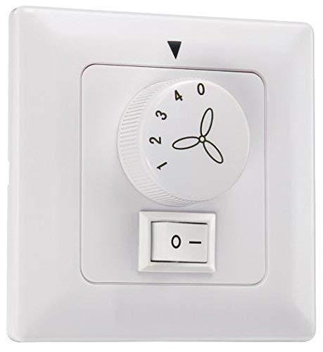 Westinghouse Lighting Control de Pared para Ventilador y Luz, Blanco