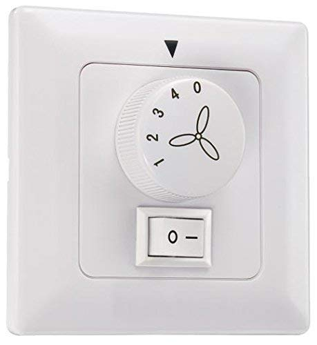 Westinghouse Lighting Control de Pared para Ventilador y Luz, Blanco