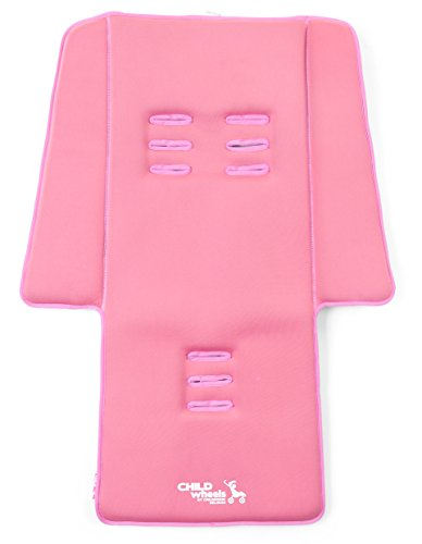Childwheels CWNBSOP Neoprene Sitzauflage Buggy Plus Pads, old pink