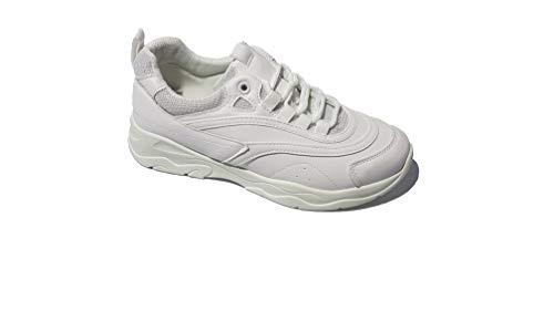 JRZ Zapatillas Streetwear para Mujer, Blanco, 40 EU
